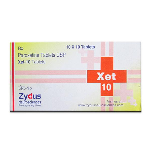 Paxil 10mg  Tablets (Generic Equivalent)