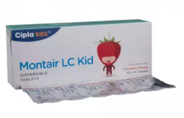 Generic Levocetirizine (2.5mg) + Montelukast (4mg) Tab