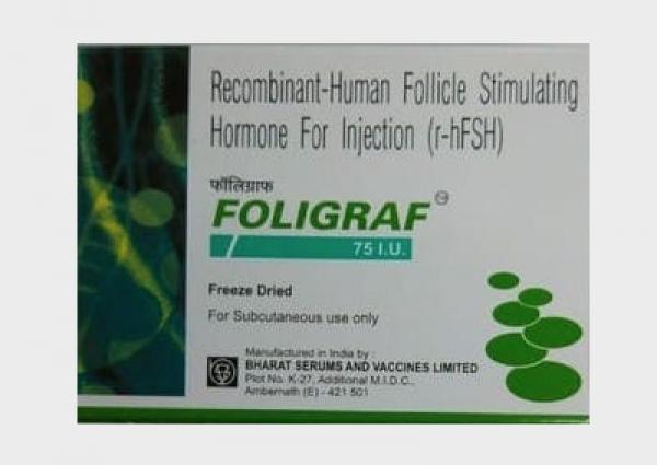 Generic Follistim AQ 75 IU Injection