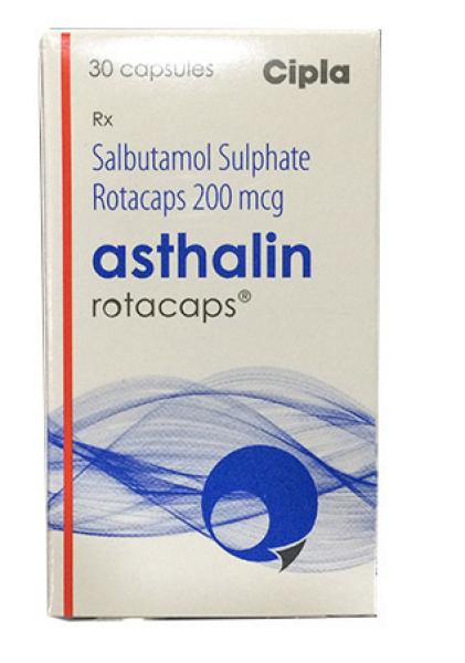 Generic Albuterol 200 mcg Rotacaps with Rotahaler