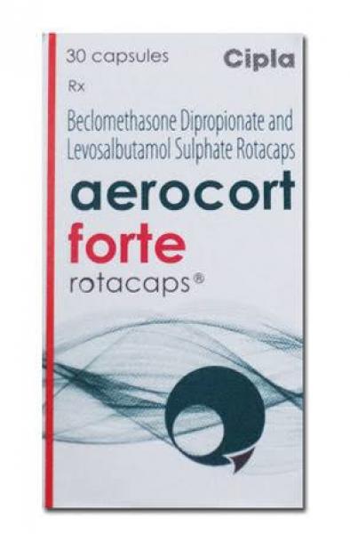 Generic Levalbuterol ( 100 mcg ) + Beclometasone ( 200 mcg ) Rotacaps with Rotahaler