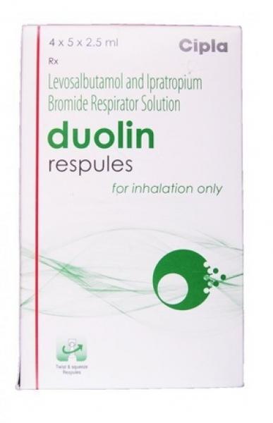 Generic Levalbuterol ( 1.25 mg ) + Ipratropium ( 500 mcg ) Respules 2.5ml