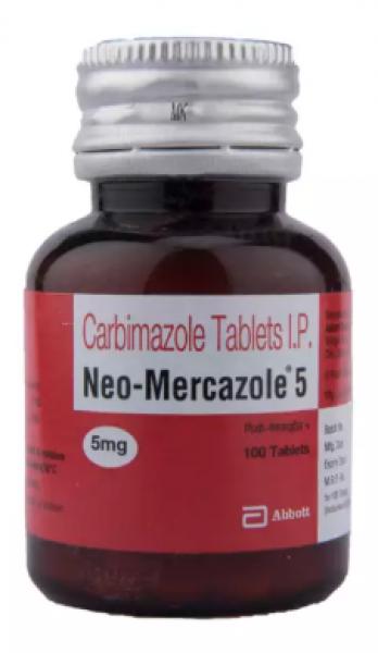 Generic Carbimazole 5 mg Tab