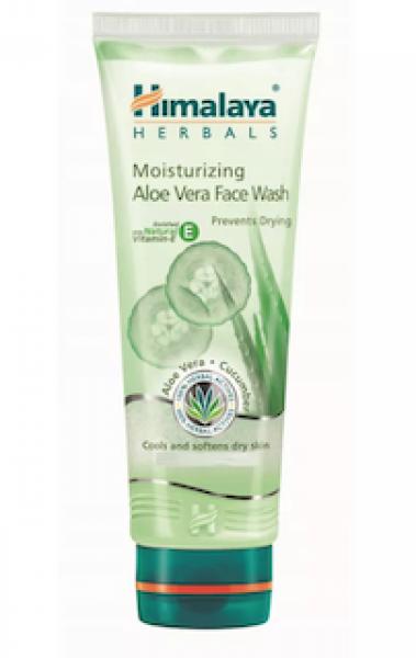 Moisturizing Aloe Vera 50 ml (Himalaya) Face Wash
