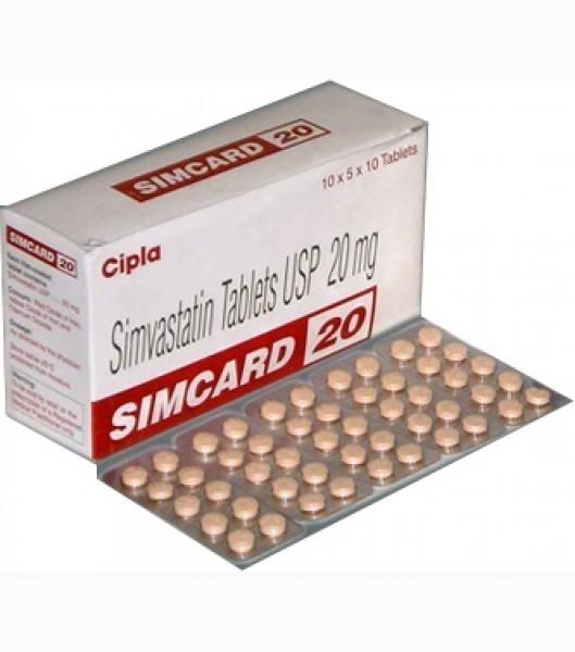 Zocor 20mg  Tablets   (Generic Equivalent)