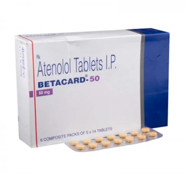 Tenormin 50mg Tablets (Generic Equivalent)