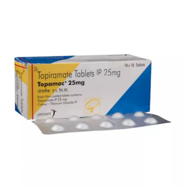Topamax 25mg Tablets (Generic Equivalent)