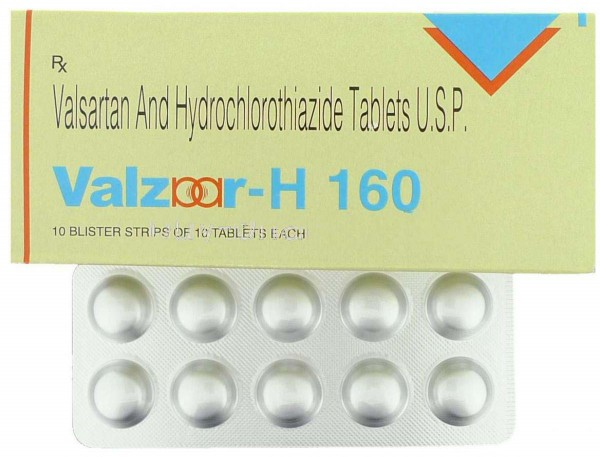 Diovan-HCT 160/12.5mg Tablets (Generic Equivalent)